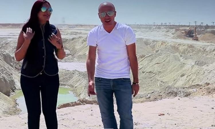 بالفيديو .. مخرج سيب ايدى يقدم اغنية وطنية لقناة السويس .. بحبك يا بلادى !!