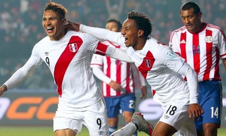 بالفيديو .. بيرو تلدغ باراجواى بهدفين وتقتنص المركز الثالث فى كوبا أميركا