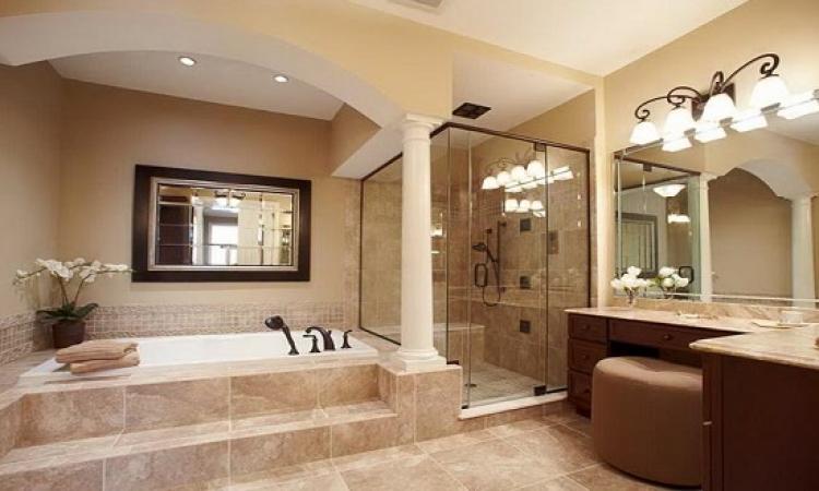 بالصور.. تصميمات الأحلام لحمامات الاغنياء!!