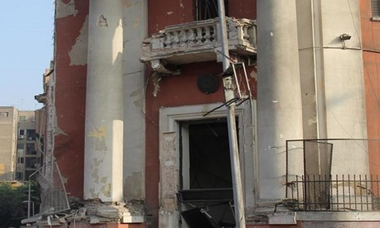 بالصور .. مقتل شخص وإصابة 4 فى تفجير القنصلية الإيطالية