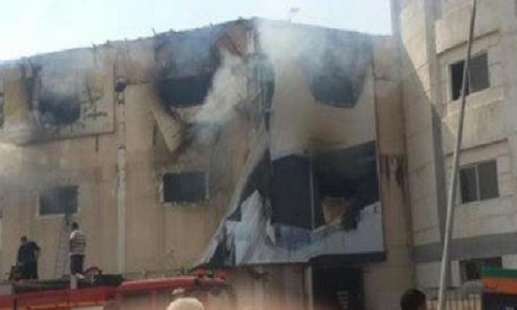 الصحة : ارتفاع عدد الوفيات فى حريق مصنع الأثاث بالعبور إلى 24 شخصا