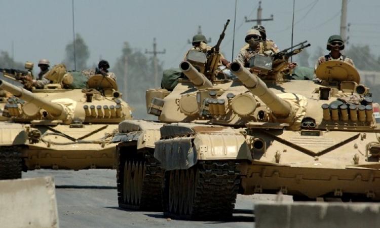 الجيش العراقى يبدأ عملية موسعة لاستعادة مركز القيارة من داعش