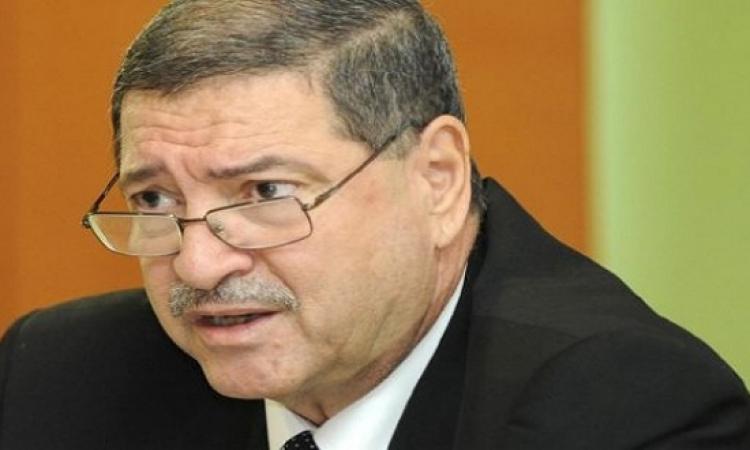 رئيس الحكومة التونسية فى اجتماع مع الأمين العام لمجلس وزراء الداخلية العرب