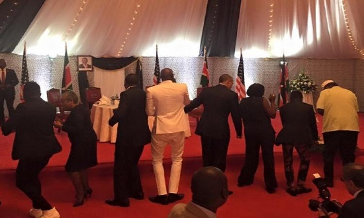 بالفيديو .. رقصة أوباما النيروبية تثير ضجة على انستجرام !!
