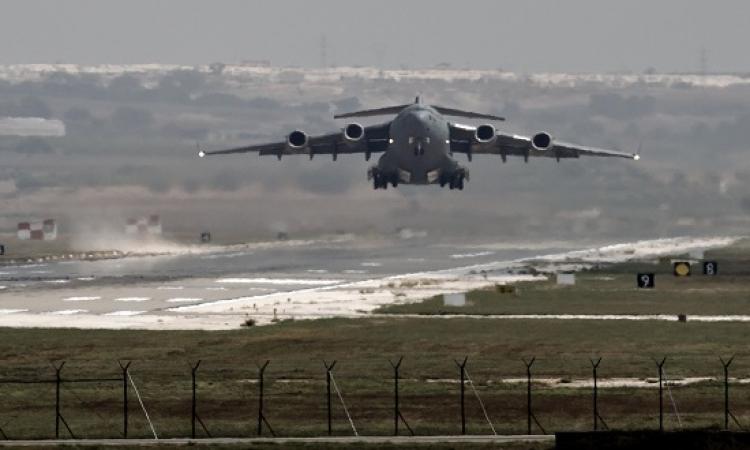تركيا تفتح رسمياً قاعدة إنجرليك للتحالف الدولى لضرب داعش