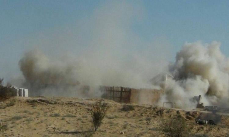 بالفيديو .. القوات المسلحة تقضى على 22 إرهابي داخل بؤرة بالشيخ زويد