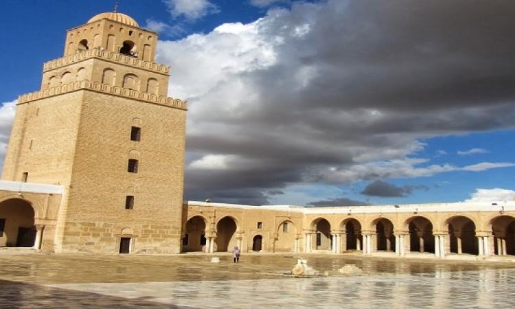 مسجد عقبة بن نافع بالقيراون .. قصة الإسلام فى تونس