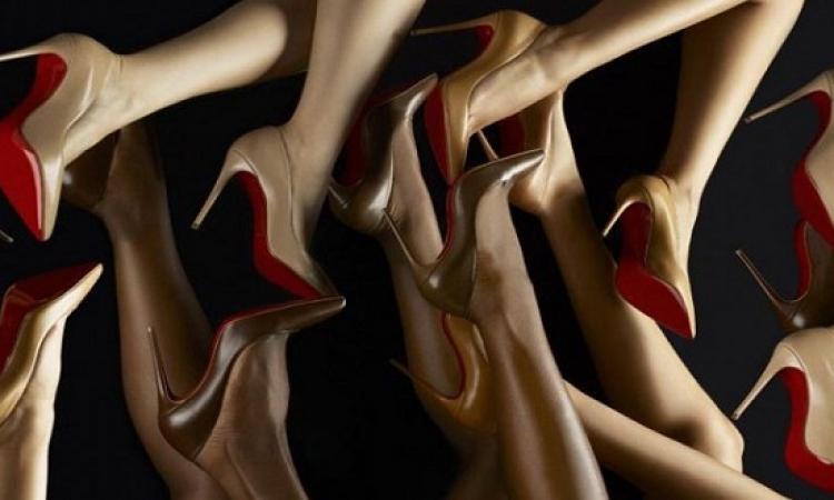 كريستين لوبوتين يصمم من أجلك أحذية بلون الجسم