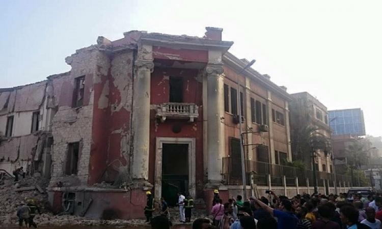 قطع المرافق عن موقع انفجار القنصلية الإيطالية