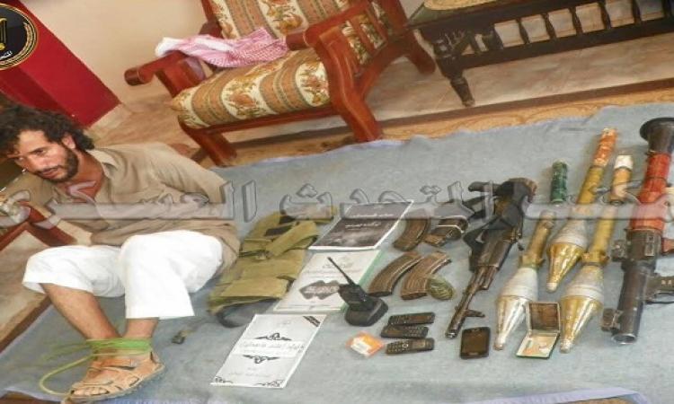 مقتل أربعة إرهابيين وإلقاء القبض على احد العناصر شديدة الخطورة بالشيخ زويد