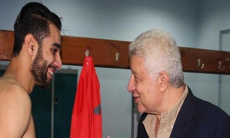 السولية بعد صورته مع  مرتضى منصور: اتقوا الله