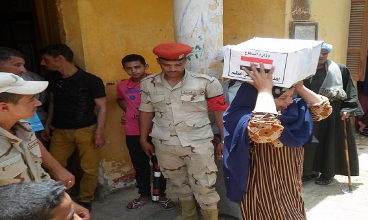 1.5 مليون حصة غذائية بمناسبة العيد من القوات المسلحة