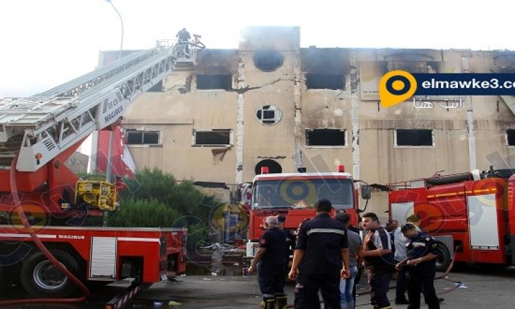 وفاة 19 شخصا وإصابة 22 آخرين فى حريق هائل بمصنع أثاث فى العبور