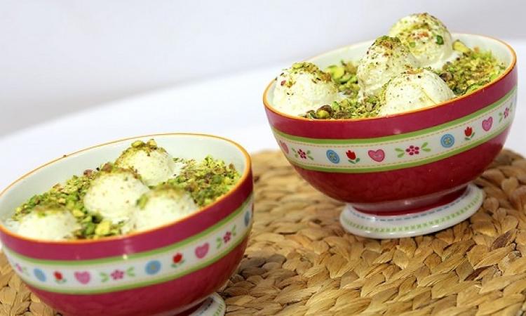حلو اليوم .. ارز باللبن بالايس كريم