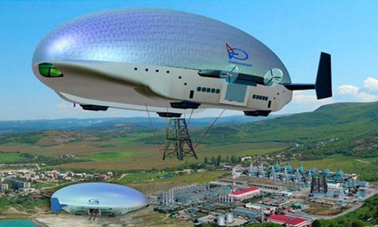 المناطيد عالية التقنية لنقل الناس والبضائع في سماء سيبيريا والشرق الاقصى