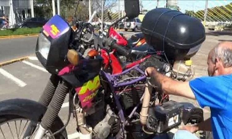 دراجة نارية تستخدم الماء بدلا من الوقود
