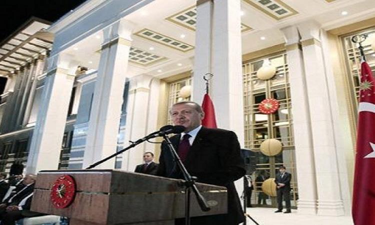 رجب أردوغان أكد على عزمه تكليف أحمد داوود أوغلو بتشكيل الحكومة