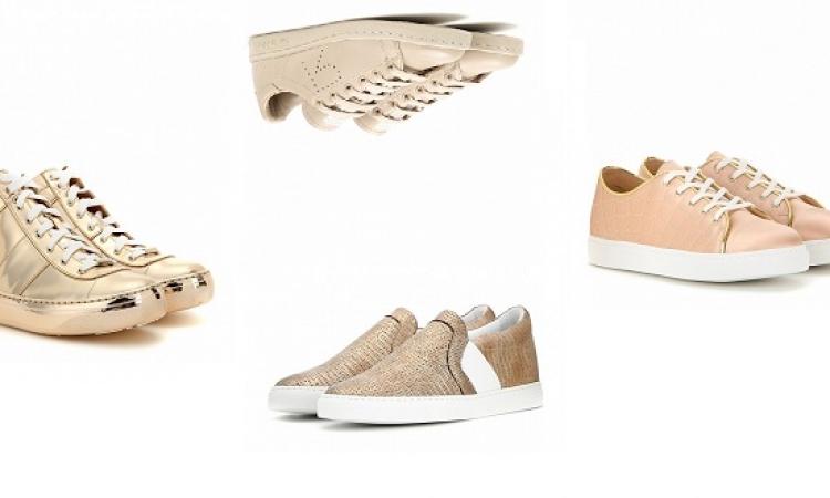 بالصور .. خليكِ كاجول بأحدث تشكيلة من أحذية السنيكرز