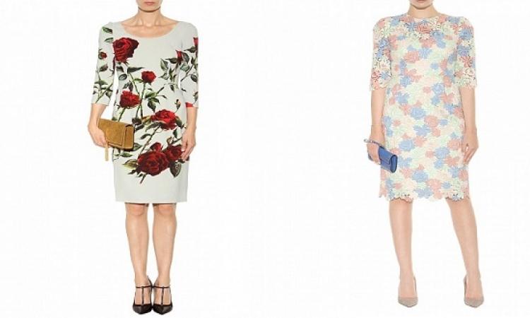 بالصور .. كونى أنثى رقيقة وتمتعى بالتصاميم الراقية لفساتين فوق الركبة