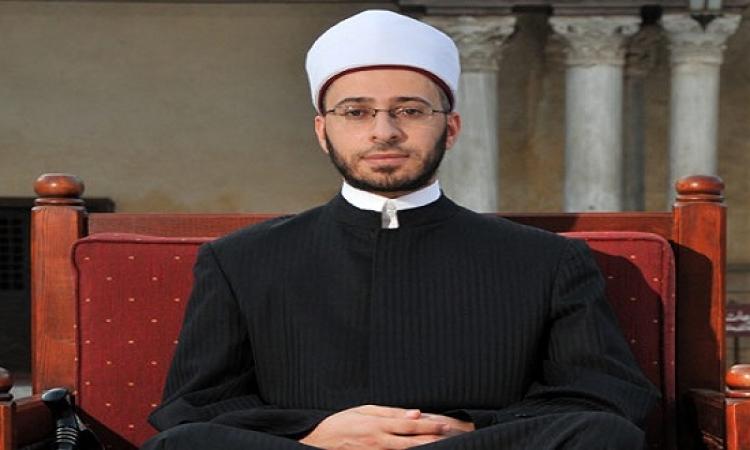 خطيب مسجد المشير طنطاوى يهنئ السيسى بالفطر فى خطبة العيد