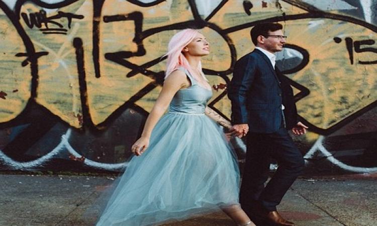 بالصور.. عروس صيف 2015 بالأزرق السماوى