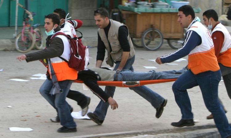 4 قتلى بانفجار صاروخ إسرائيلى من مخلفات حرب غزة