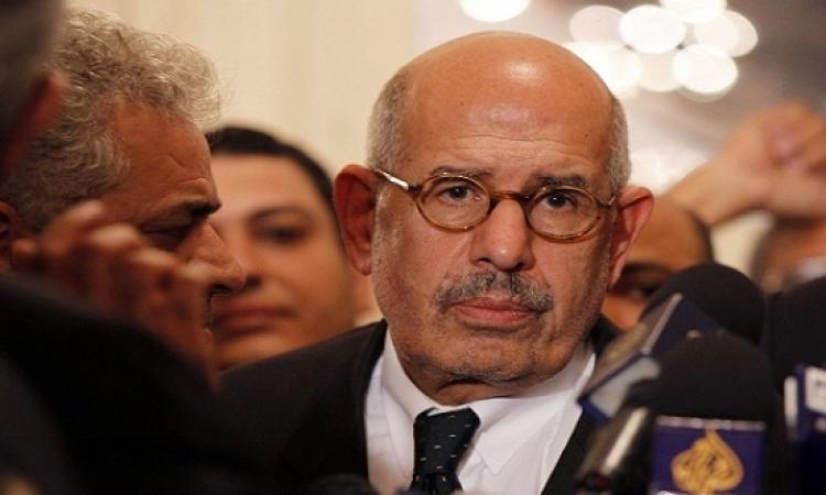 البرادعى يهاجم العدالة فى مصر ووائل عباس يرد : أخيرا عملى بلوك!!