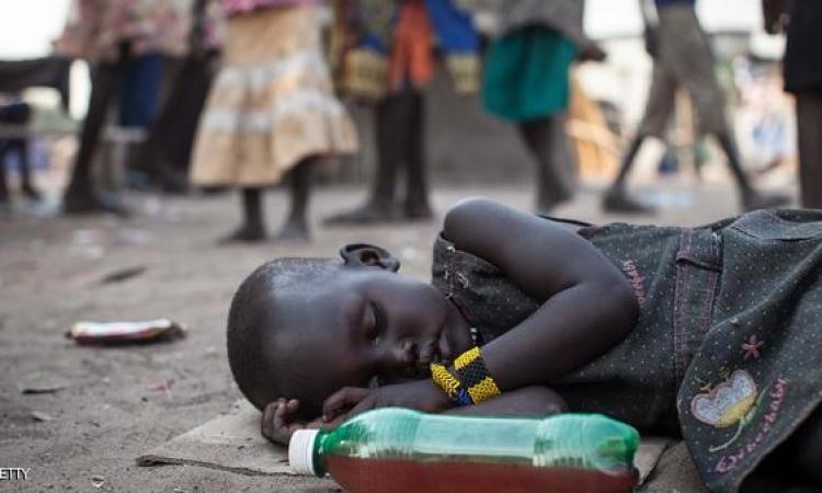 الجوع يقتل ربع مليون طفل فى السودان