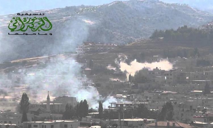 استئناف قصف الزبدانى بعد انهيار مفاوضات الهدنة مع الجيش السورى