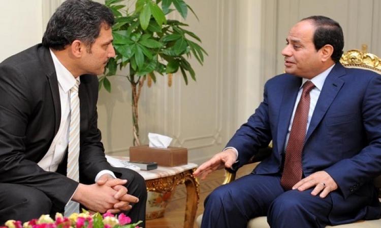 السيسى يؤكد أهمية مواصلة مفاوضات سد النهضة وفقا لمرجعيات إعلان المبادىء
