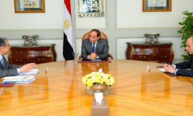 السيسى يوجه وزير الكهرباء بصيانة المحطات والتعاقد على إنشاء أخرى جديدة