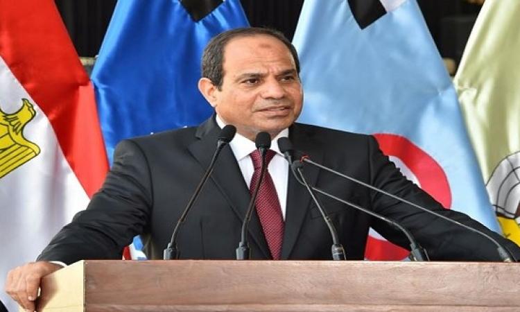 اليوم.. السيسى متحدثًا رئيسيًا فى الجلسة الافتتاحية لحوار المنامة