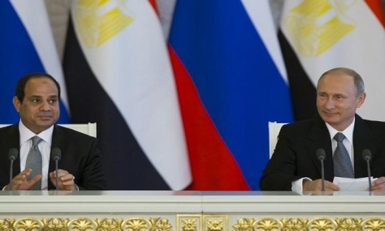 بالفيديو .. السيسى وبوتين يعلنان الاتفاق على إنشاء روسيا للمحطة النووية المصرية