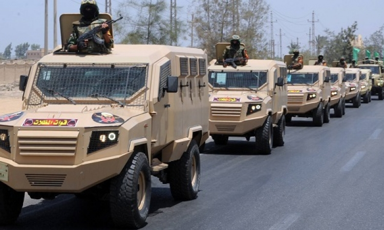 بالصور .. القوات المسلحة تنهى استعدادات تأمين افتتاح قناة السويس الجديدة