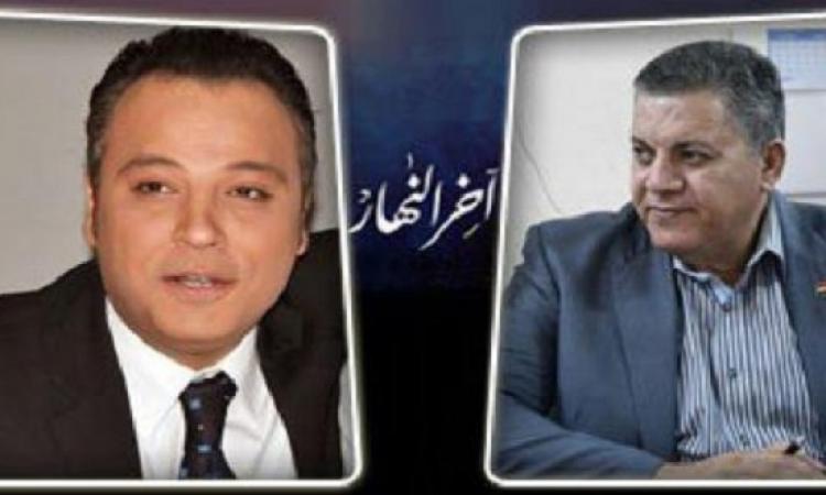 """بالفيديو .. خناقة على الهواء بين حمدى الفخرانى وتامر عبد المنعم : """"همسح بيك الأرض"""" !!"""