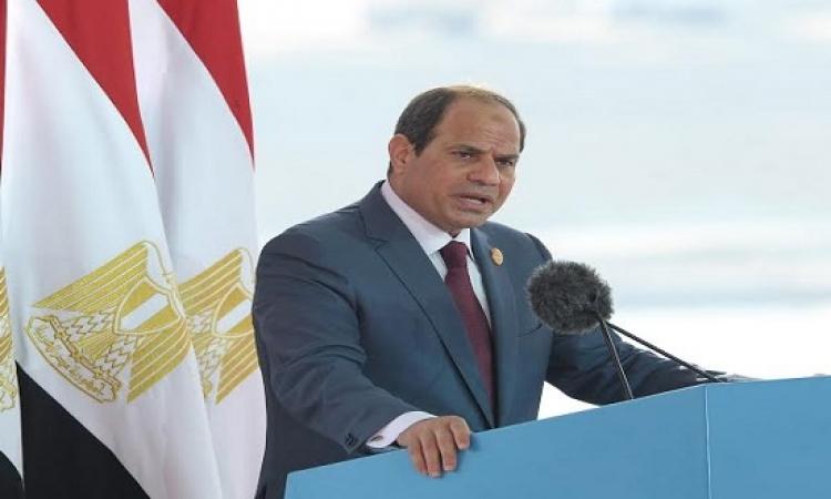 رئيسة مفوضية الاتحاد الإفريقى: السيسى رفع من شأن قارتنا
