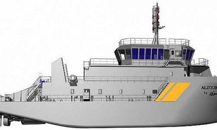تدشين أول سفينة سعودية الصنع لصالح خفر السواحل بالكويت