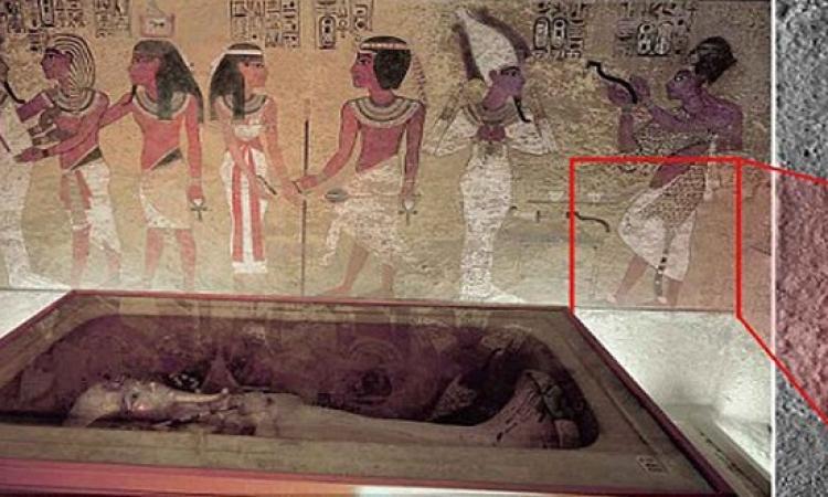 بالصور.. اكتشاف ممر سرى يؤدى إلى قبر نفرتيتى.. أخيرًا لقيوها!