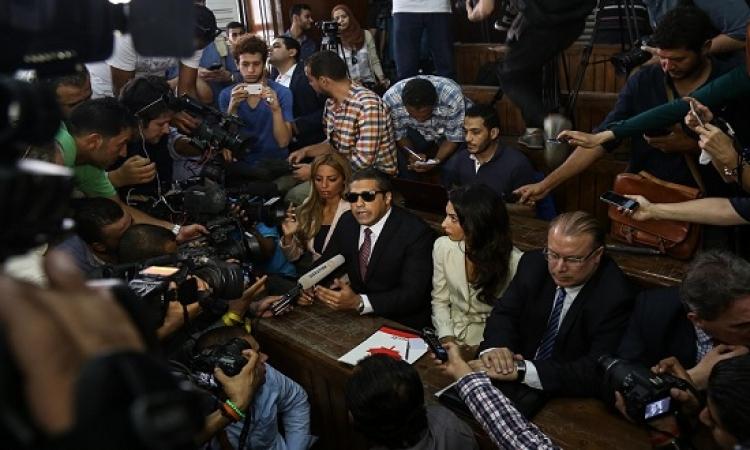 الاتحاد الأوروبى : الحكم على صحفيى الجزيرة انتكاسة لحرية التعبير بمصر