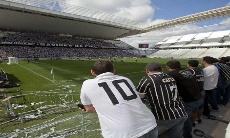 رقم قياسى لجماهير كورينثيانز البرازيلى بفضل تخفيض أسعار التذاكر