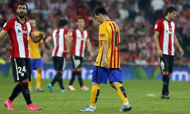 برشلونة يبحث عن معجزة أمام اثلتيك بلباو لانتزاع السوبر الاسبانى