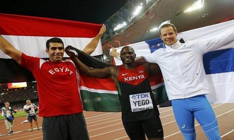 إيهاب عبد الرحمن يمنح مصر أول ميدالية فى تاريخ ألعاب القوى