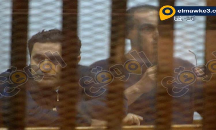 بالصور .. تأجيل محاكمة علاء وجمال مبارك بقضية التلاعب بالبورصة لـ 10 أكتوبر