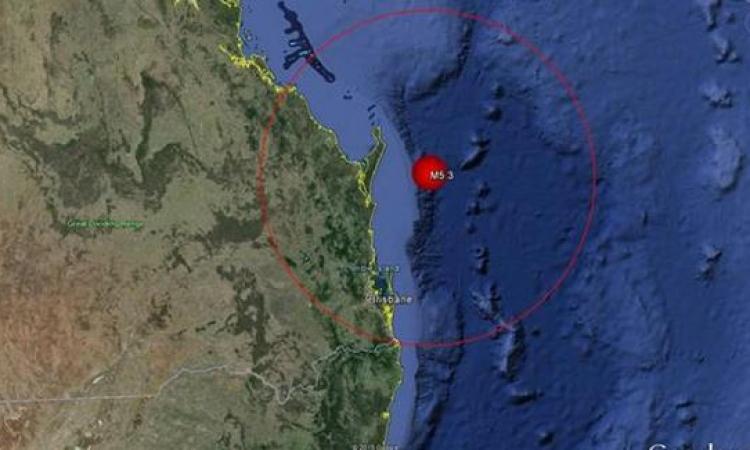 أقوى زلزال يضرب استراليا  من 100 عام بقوة 5.7 ريختر