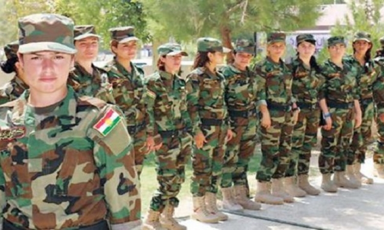 مطربة أيزيدية تقود كتيبة عراقية : سنأخذ بالثأر من داعش