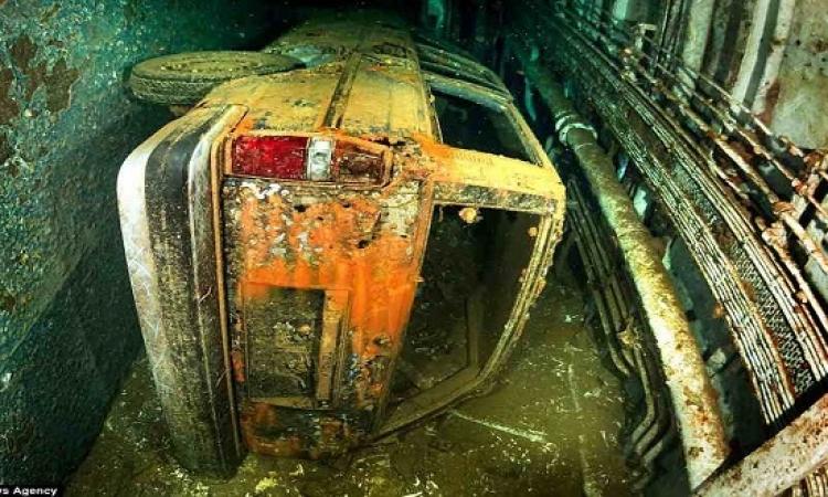 بالصور .. مكان حطام سفينة سالم إكسبريس بالبحر الأحمر