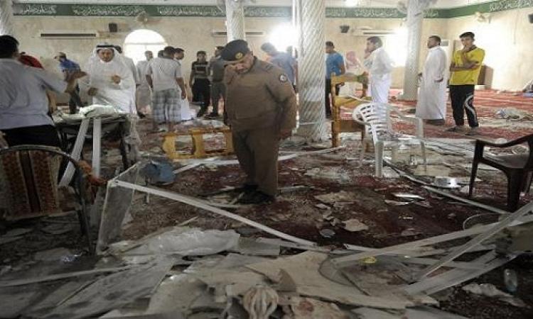 مقتل 15 عسكرياُ سعودياً جراء تفجير انتحارى بمسجد لقوات الطوارىء بعسير