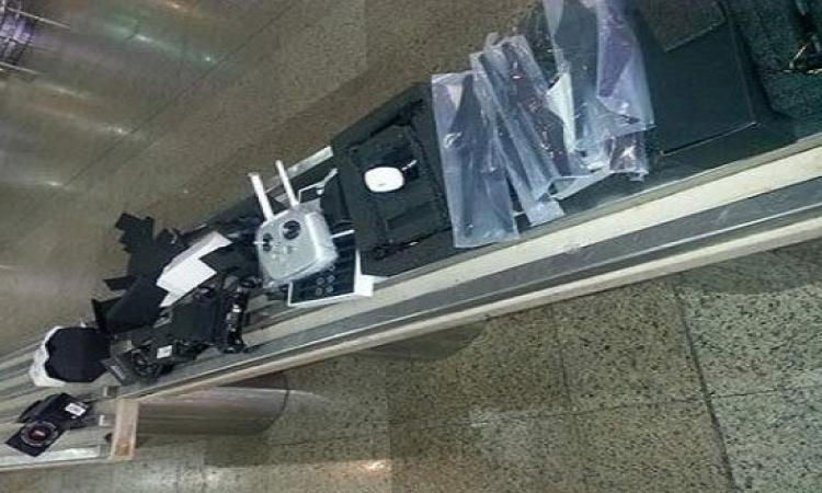 """جمارك مطار القاهرة تحبط محاولة تهريب طائرات """"تجسس"""" مزودة بكاميرات عالية الجودة"""