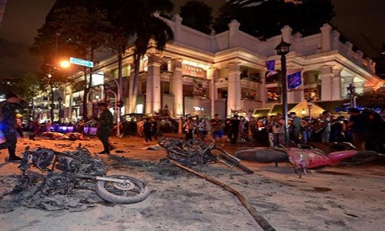 12 قتيلاً و20 مصابا ً فى انفجار استهدف مزار دينى بالعاصمة التايلاندية بانكوك