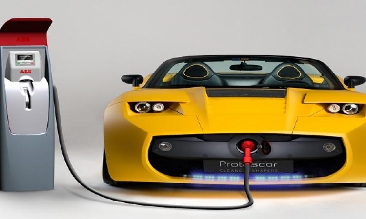 تجربة جديدة تسهل شحن السيارات الكهربائية فى إنجلترا .. اوعدنا يا رب!!